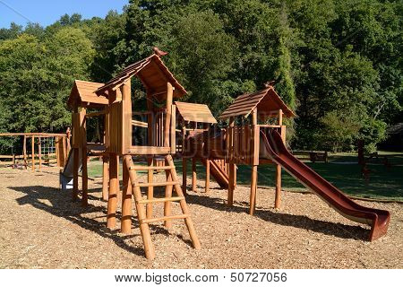Playground In The Forest