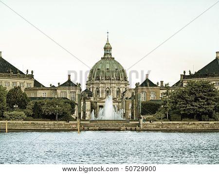 Royal Palace Amalienborg, Cathedral Denmark