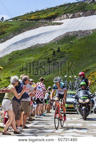 The Cyclist Sylvain Chavannel