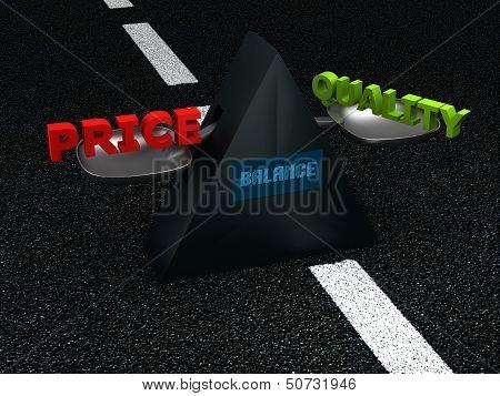 Balance - price-quality