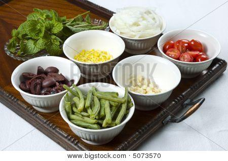 Ingredientes mediterrânicos