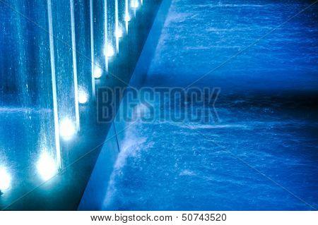 Fountains illumination