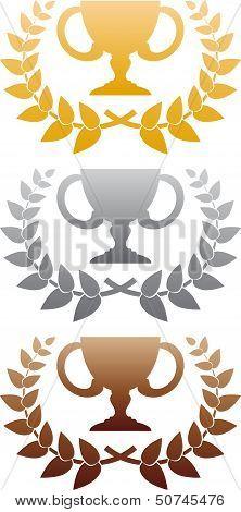 Three awards