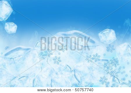 Icy Ice Background