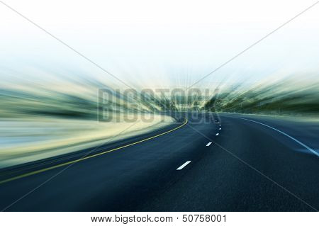 Fast Highway poster