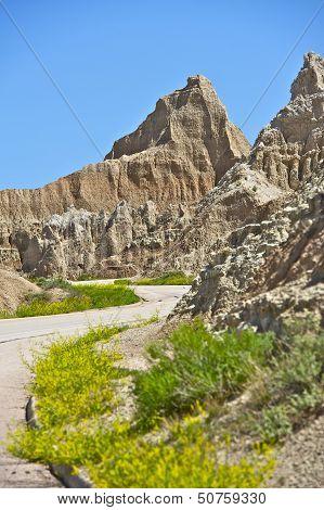 Road Thru Badlands