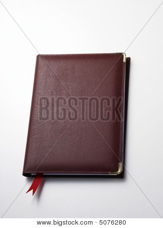Red Hard Cover Organizer