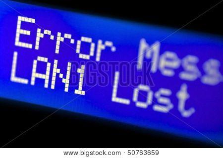 Lan Error