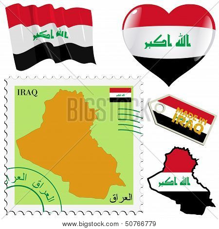 National Colours Of Iraq