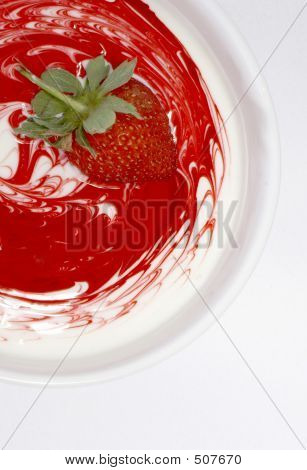 Strawberry Swirl I