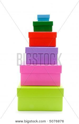 Colored Boxes