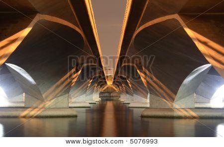 Under A Modern Bridge