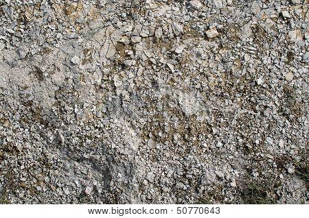 Ground With Stones