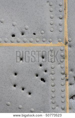 Damaged Metallic Background Texture