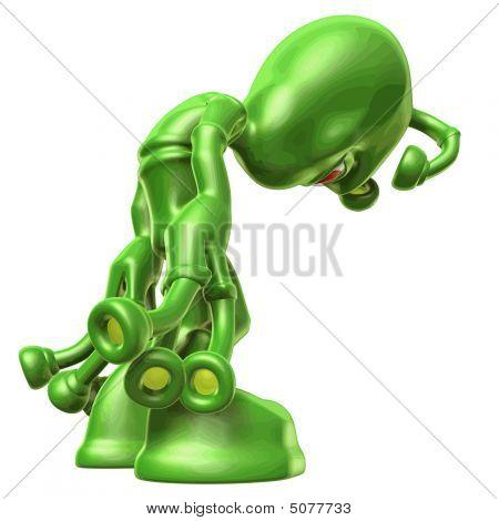 3D Alien