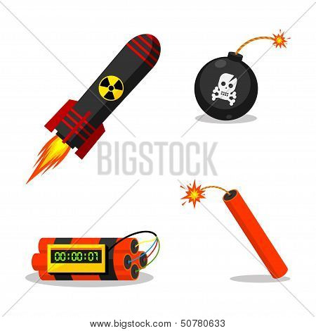 Explosive objects
