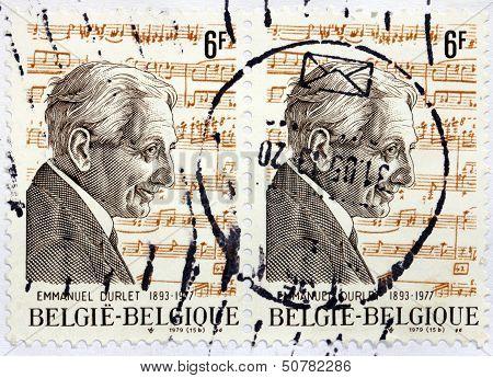Emmanuel Durlet Stamp