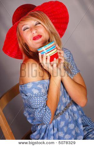 Teen Coffee Drinker