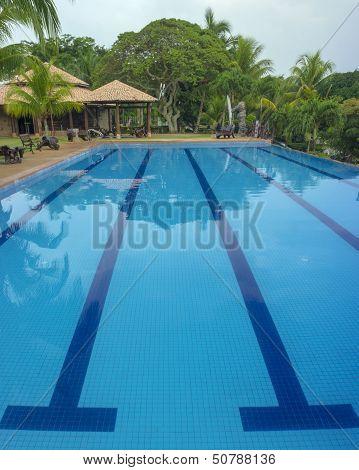 Outdoor resort pool swimming pool