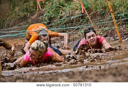 Mud Run Race
