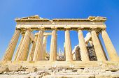 foto of parthenon  - Ancient Parthenon temple - JPG