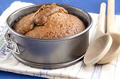 pic of toffee  - baked toffee pudding in a cake tin - JPG