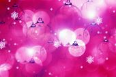 stock photo of pinky  - Pink Christmas - JPG