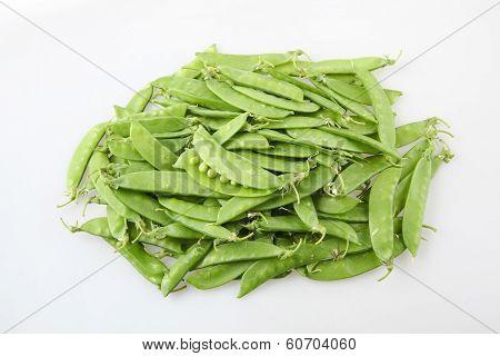 A Pile Of Snow Peas