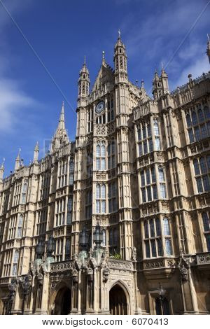 Westminster, Houses Of Parliament In London