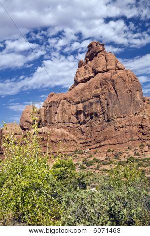 Ham Rock, Arches National Park