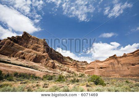 Arches National Park Cliffs