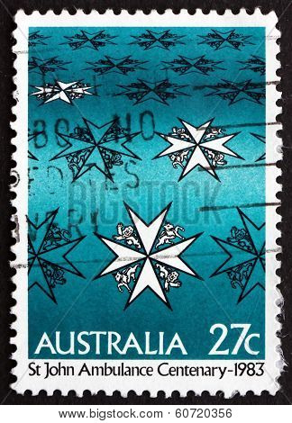 Postage Stamp Australia 1983 St. Johns Ambulance