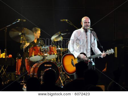 The Tragically Hip Perform In Concert