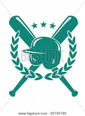 Baseball championship emblem