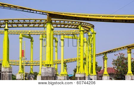 Yellow Rollercoaster