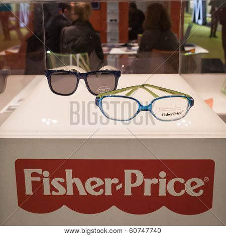 Fischer-price Glasses On Display At Mido 2014 In Milan, Italy