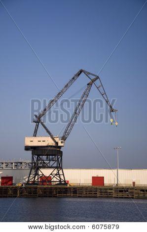 Massive Dock Crane