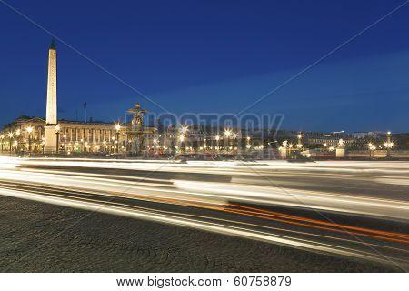 Concorde Square, Paris, Ile-de-france, France