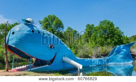 Route 66: Blue Whale, Catoosa, OK