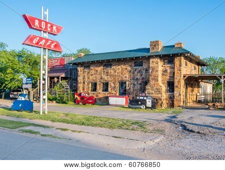 Route 66: Rock Cafe, Stroud, OK