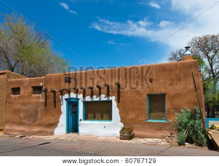 Route 66: Casa Vieja de Analco, Santa Fe, New Mexico