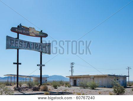 Route 66: Road Runner's Retreat Restaurant, Chambless, CA