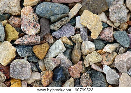 Natural Gravel Background
