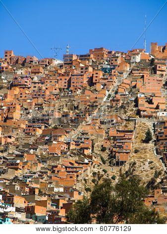 Houses od La Paz