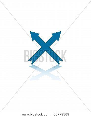 Crossing Arrows
