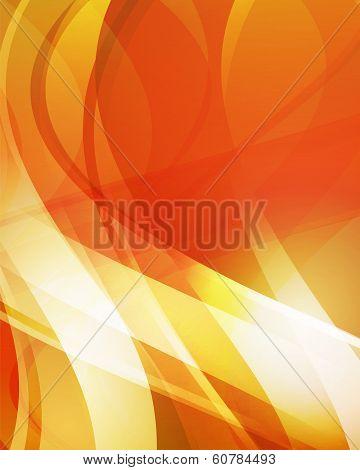 Abstract Orange Background 4