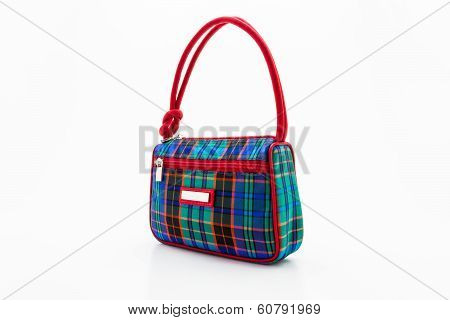 Handbag Made Of Thai Silk.