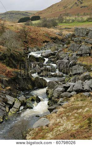 Afon Claerwen River
