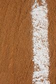 image of infield  - Baseball Infield Chalk Line with room for copy and for Sports Background - JPG