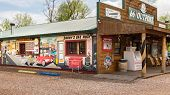 Route 66: Outpost General Store and Mural, Fanning, MO